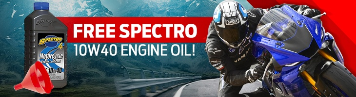 Free Spectro 10W40 Engine Oil!